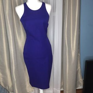 Banana Republic Sleeveless Bodycon Midi Dress